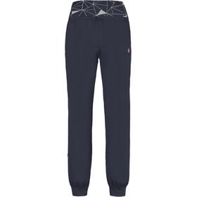 E9 Hit Trousers Women bluenavy